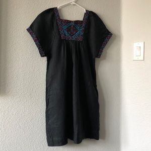 Embroidered Madewell Dress